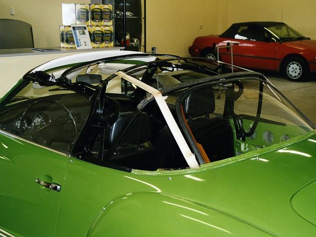 VW Karmann Ghia cabriokapframe