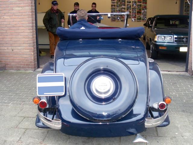 Peugeot 6-1 kaphoes Sonnenland Classic blauw