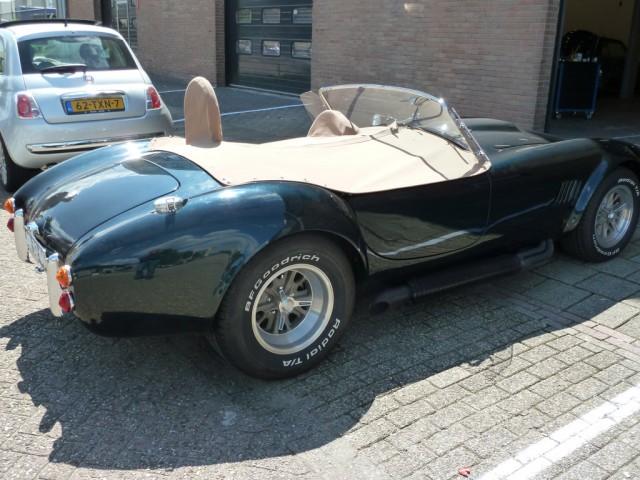AC Cobra, tonneau Sonnenland Classic beige