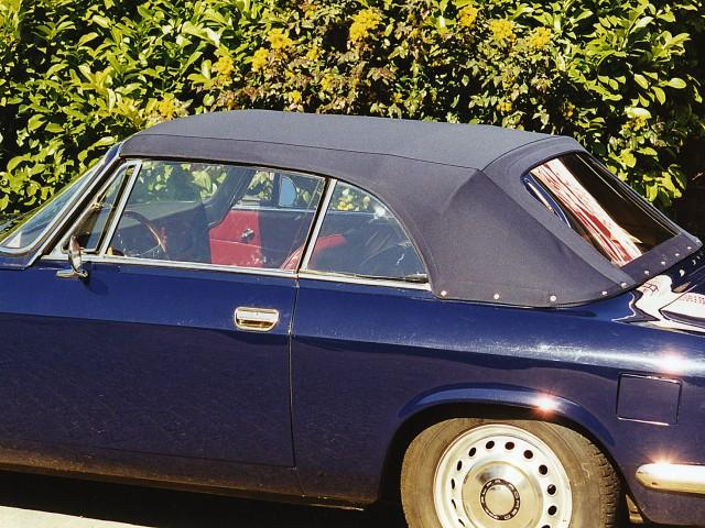 Alfa Romeo GTC / Cabriokap Twillfast blauw