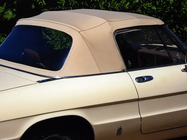 Alfa Romeo Spider fastback / Sonnenland Classic wit