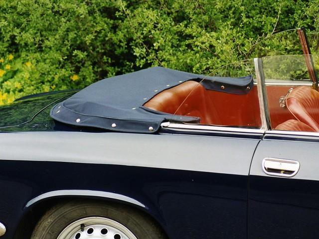 Alfa Romeo GTC / Kaphoes Twillfast blauw