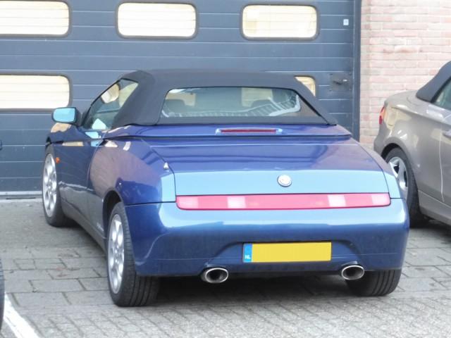Alfa Romeo 916 softtop Stayfast zwart  (1)