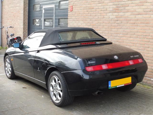 Alfa Romeo 916 softtop Stayfast zwart (2)