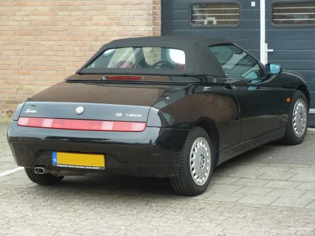 Alfa Romeo 916, softtop Stayfast zwart (3)