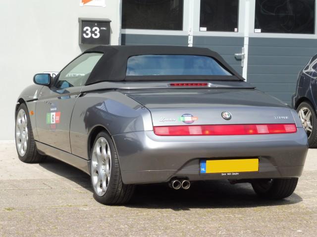 Alfa Romeo 916 softtop Stayfast zwart  (4)