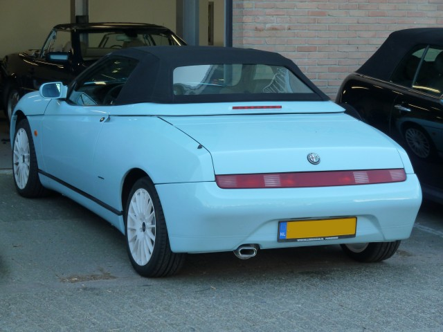 Alfa Romeo 916, softtop Stayfast zwart (5)