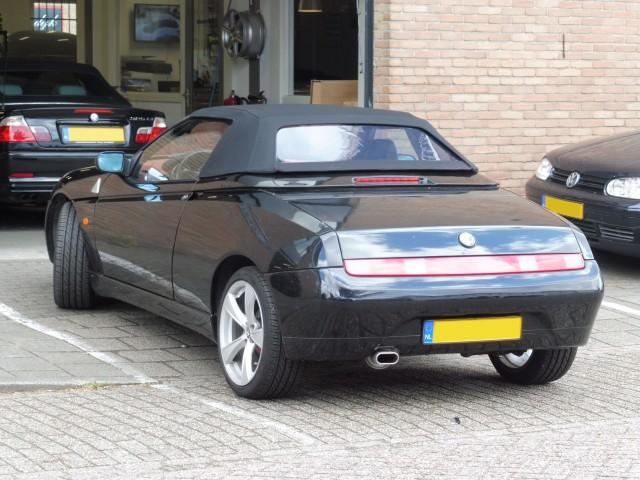 Alfa Romeo 916 softtop Stayfast zwart (5)