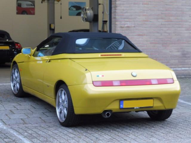 Alfa Romeo 916 softtop Stayfast zwart (6)