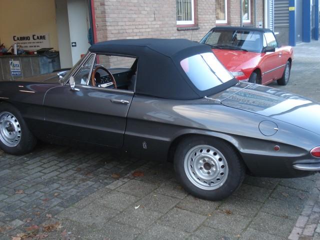 Alfa Romeo Duetto, softtop Sonnenland Classic
