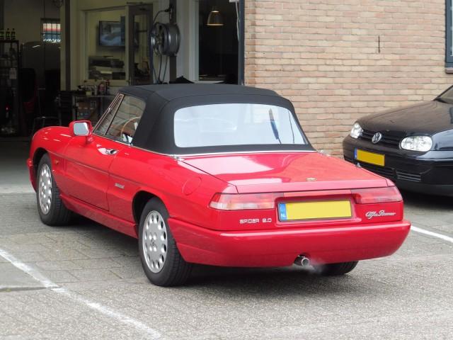 Alfa Romeo Spider softtop Sonnenland A5 zwart (10)