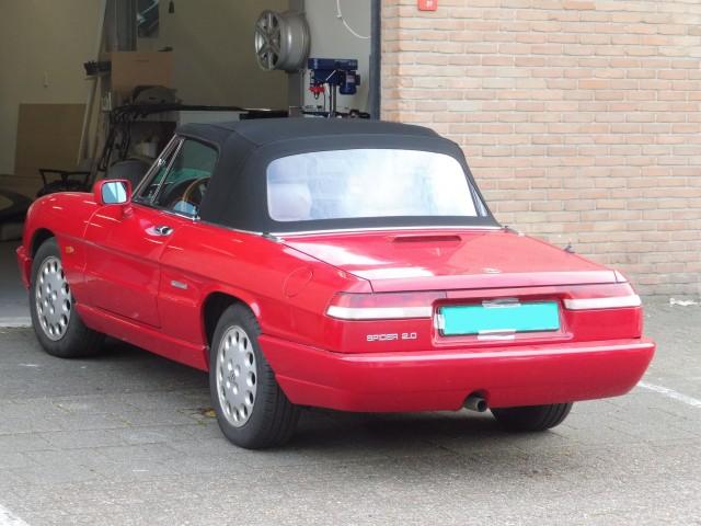 Alfa Romeo Spider softtop Sonnenland A5 zwart (11)