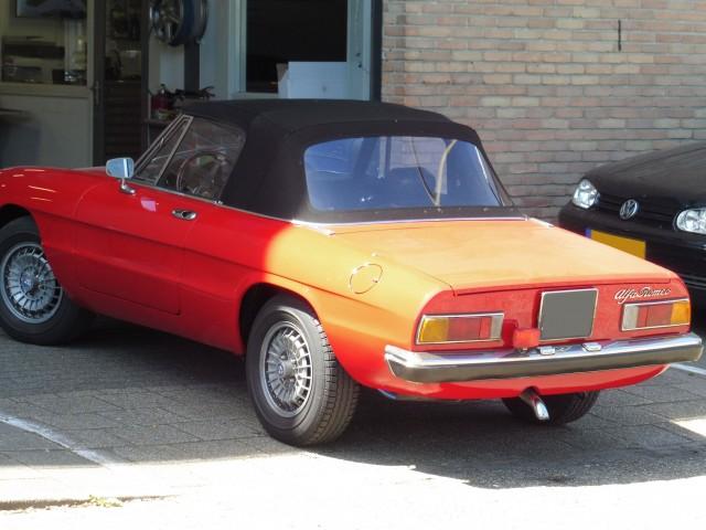 Alfa Romeo Spider softtop Sonnenland A5 zwart (12)
