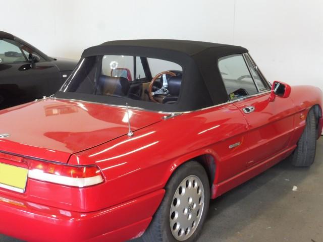 Alfa Romeo Spider softtop Sonnenland A5 zwart (14)