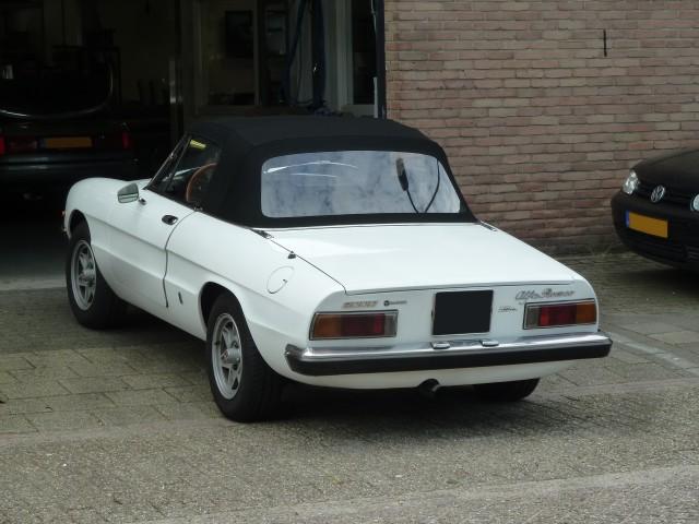 Alfa Romeo Spider, softtop Sonnenland A5 zwart (18)
