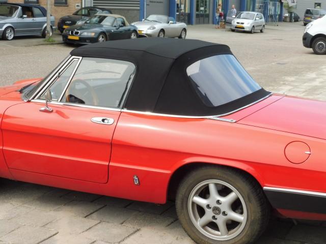Alfa Romeo Spider softtop Sonnenland A5 zwart (20)