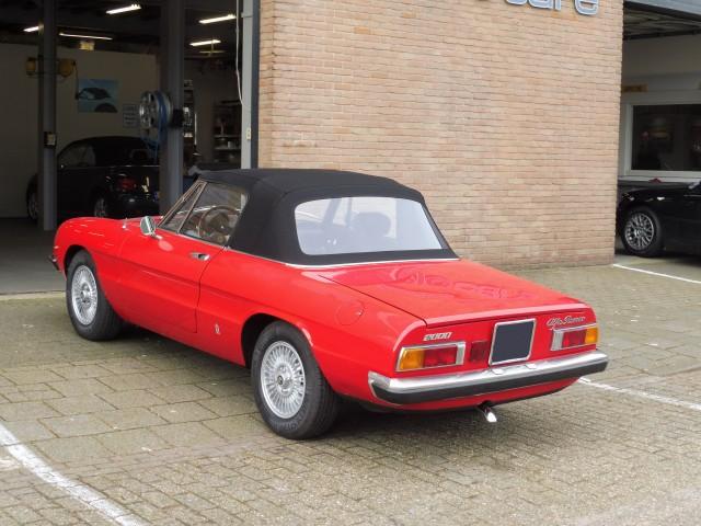 Alfa Romeo Spider softtop Sonnenland A5 zwart (6)