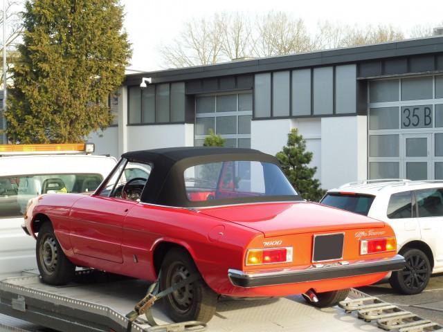 Alfa Romeo Spider softtop Sonnenland A5 zwart (7)