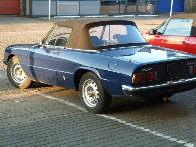 Alfa Romeo Spider, softtop Sonnenland A5 zwart (9)