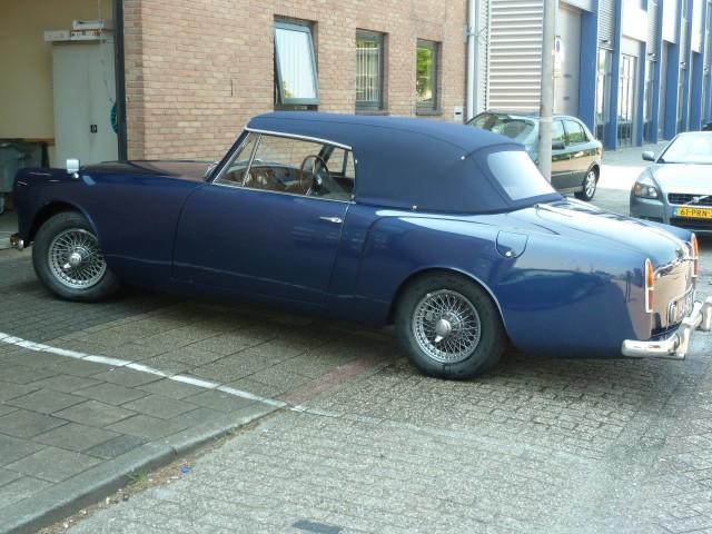 Alvis 1966, softtop Sonnenland Classic blauw