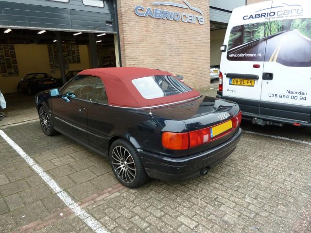 Audi (80) Cabrio softtop Sonnenland A5 rood