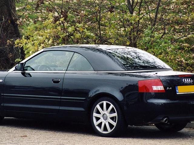 Audi A4 cabrio / Hardtop Wiesmann zwart