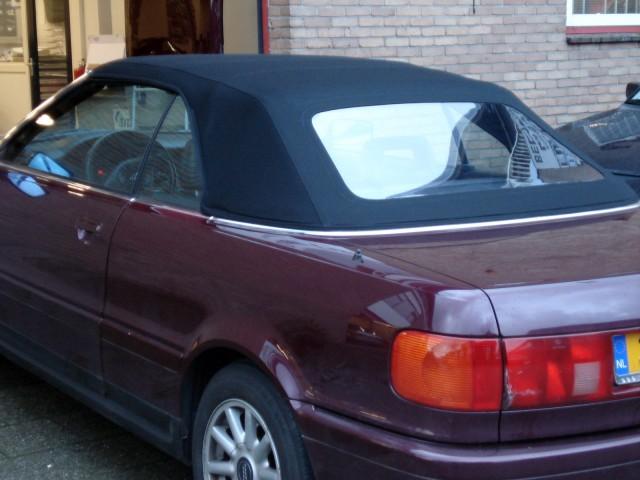 Audi Cabriolet / Softtop Twillfast zwart