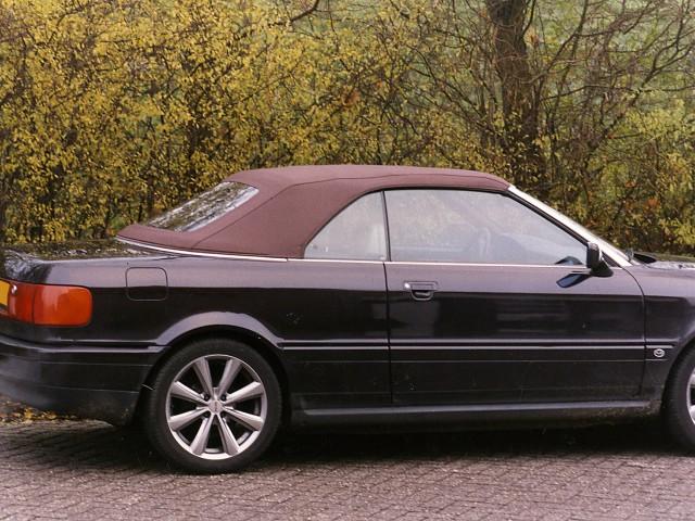 Audi Cabriolet / Cabriokap Sonnenland Classic Mahagony