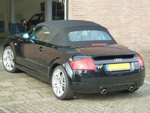 Audi TT / softtop origineel zwart