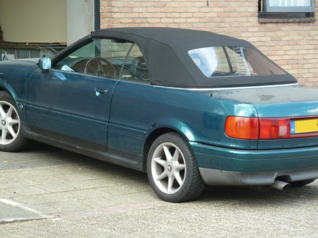 Audi 80 softtop Stayfast zwart
