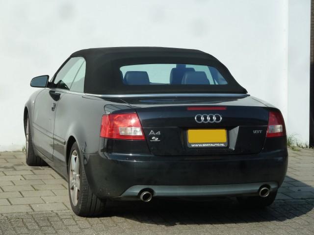 Audi A4, softtop Sonnenland A5 zwart  (3)