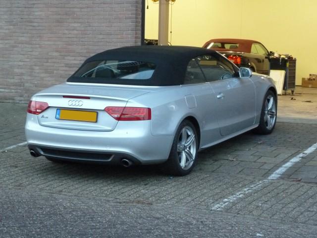 Audi A5, softtop Sonnenland A5, origineel Audi