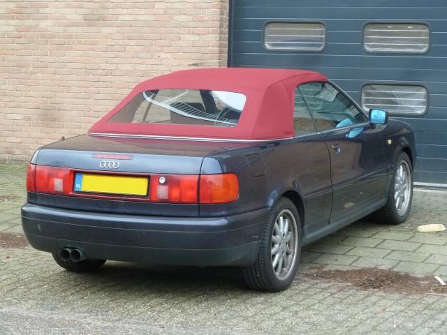 Audi Cabrio, softtop Sonnenland A5 rood (1)