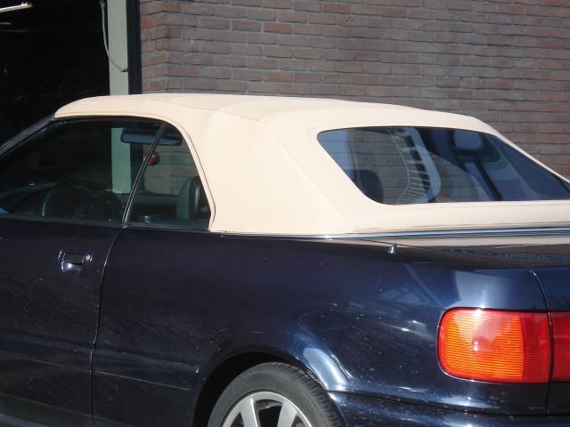 Audi Cabrio, softtop Sonnenland Classic beige