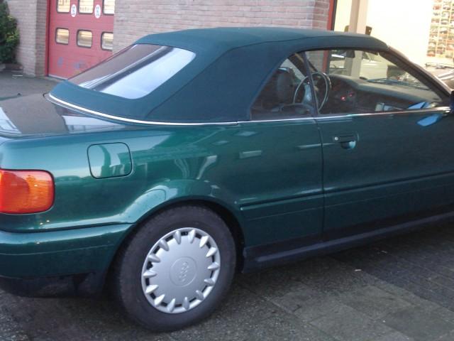 Audi Cabrio, softtop Twillfast zwart (2)