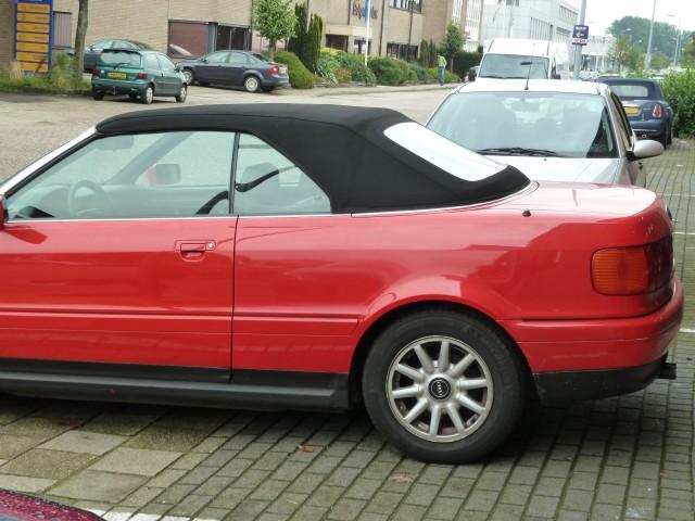 Audi Cabrio, softtop Twillfast zwart (3)