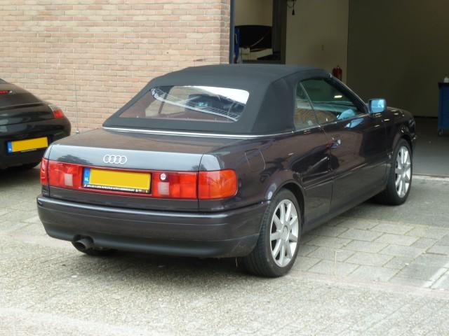 Audi Cabrio, softtop Twillfast zwart (4)
