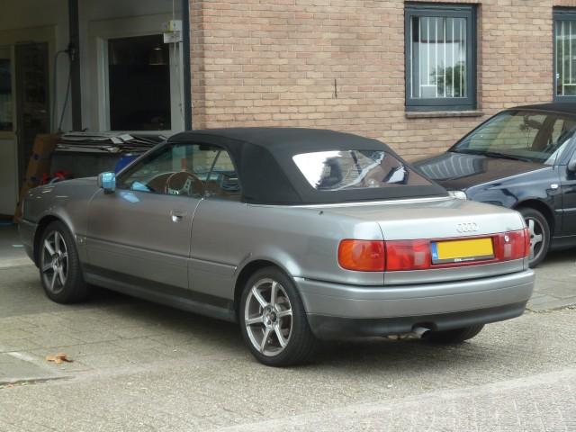 Audi Cabrio, softtop Twillfast zwart (5)