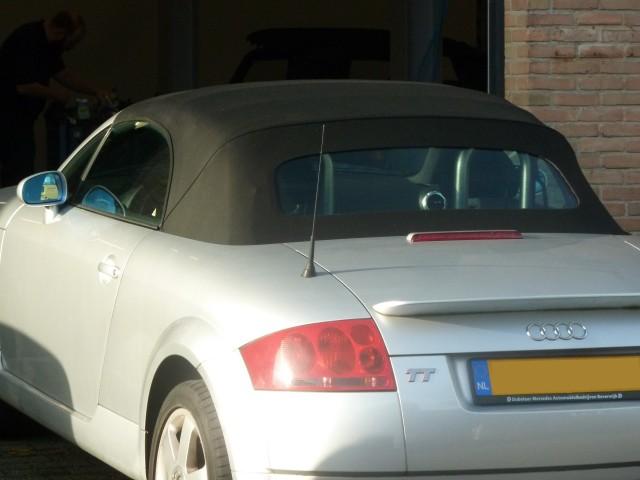 Audi TT '95 - '05, softtop Twillfast zwart (3)