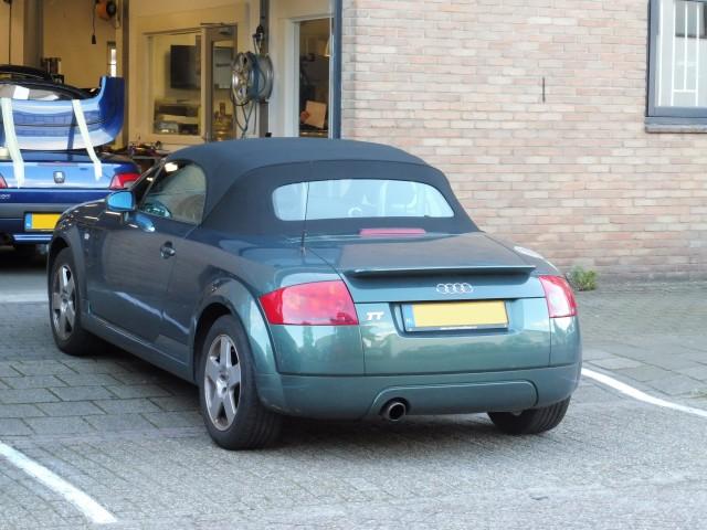 Audi TT '95 - '05, softtop Twillfast zwart (7)