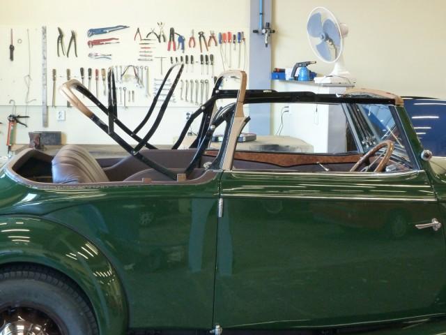 Cabriokapframe Nash 1933