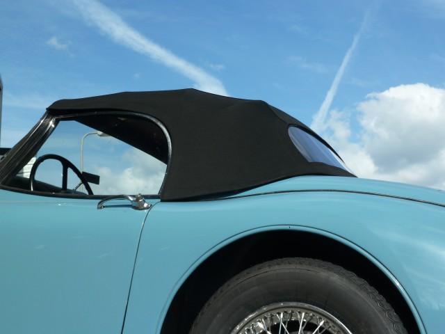 Jaguar XK 150 Roadster, softtop Sonnenland Classic zwart, geheel waterdicht volgens eigenaar!