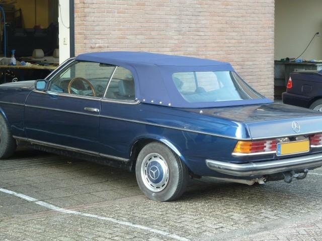 Mercedes, cabriokap Sonnenland Classic blauw