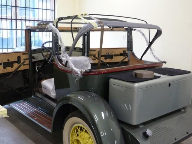 Cabriokapframe Ford A 1929
