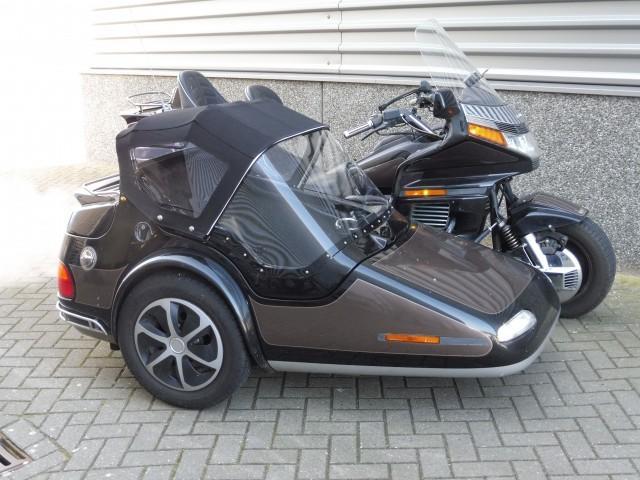 Motorfiets zijspan cabriokap tailormade