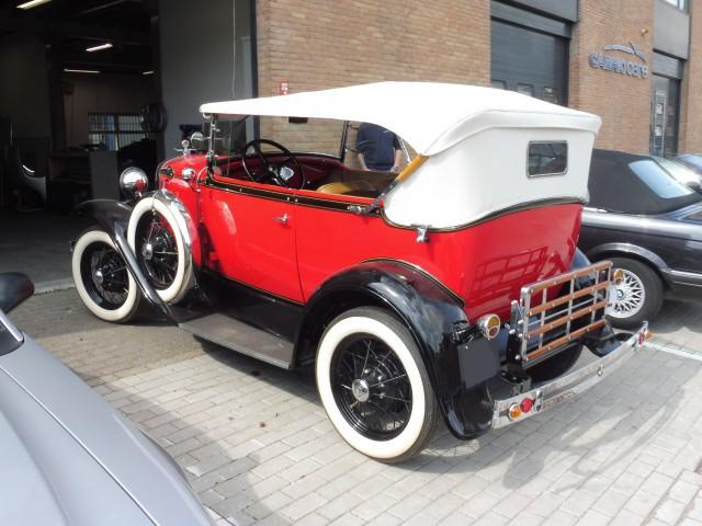 Ford Model Phaeton, 1929, softtop Stayfast HotRod Oyster