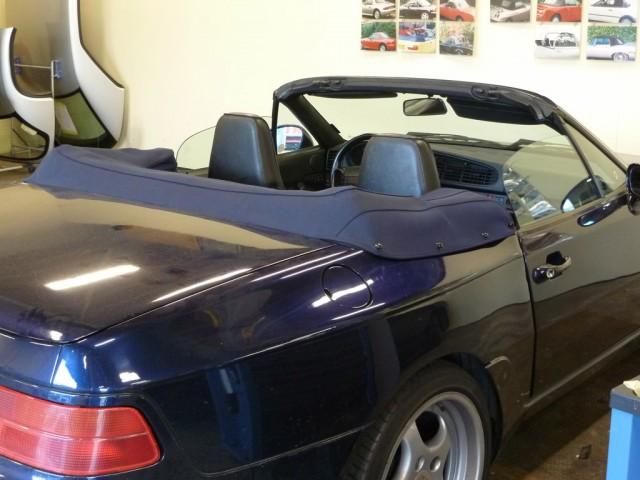 Porsche 968 kaphoes Sonnenland Classic blauw