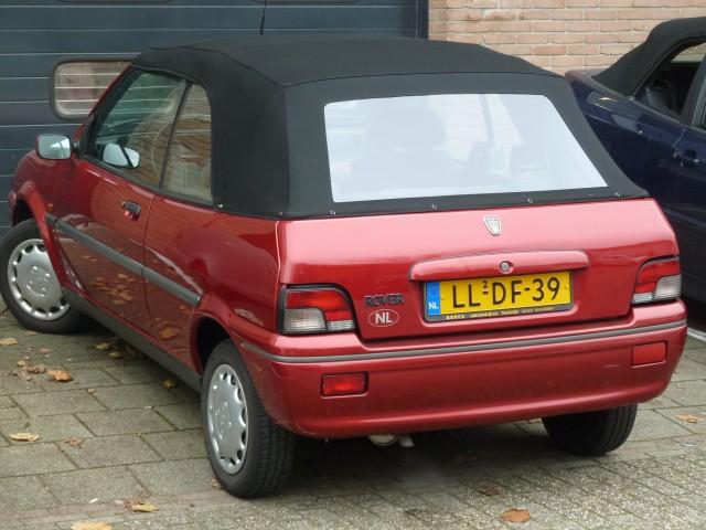 Rover 1-serie, softtop Sonnenland A5 zwart