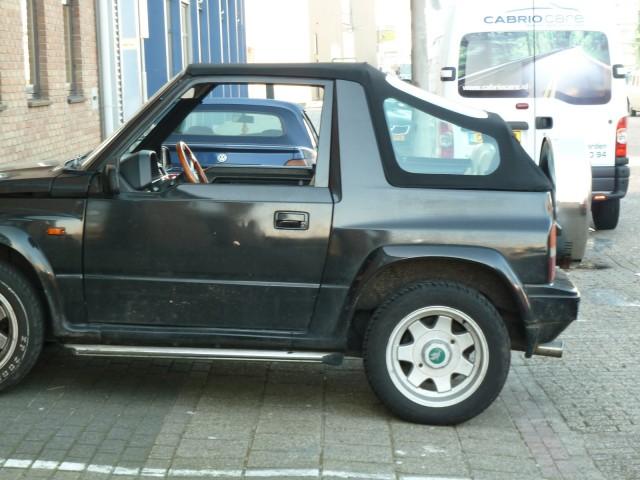 Suzuki Vitara, cabriokap Sonnenland Classic