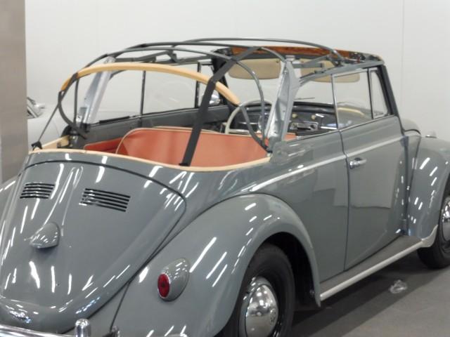 VW Kever cabriolet 1961 cabriokapframe